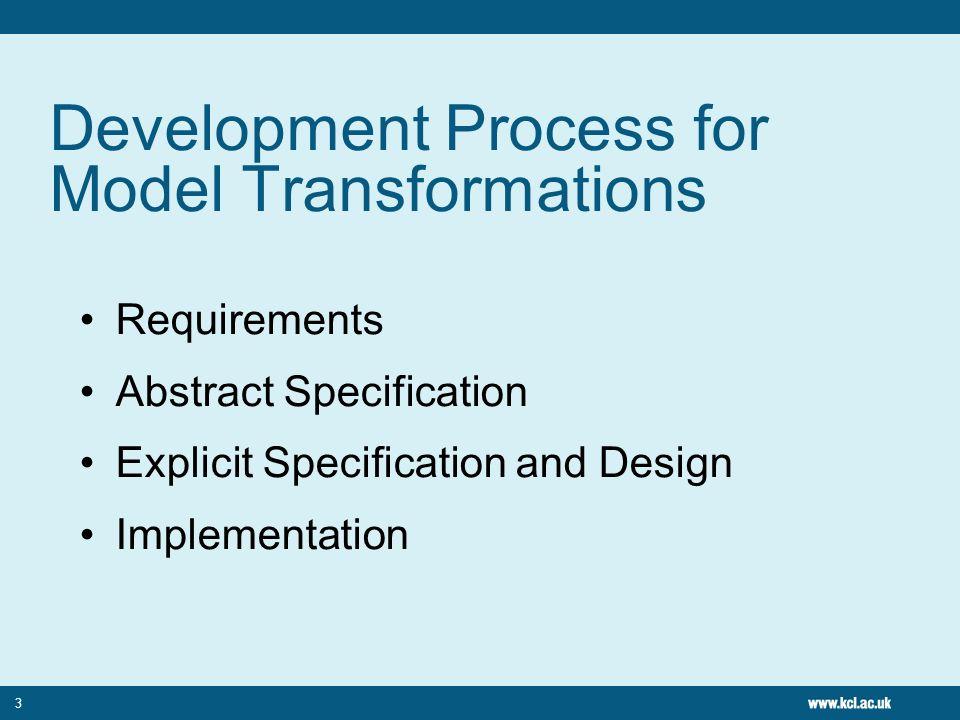 Tree to Graph Transformation 4 Transformation