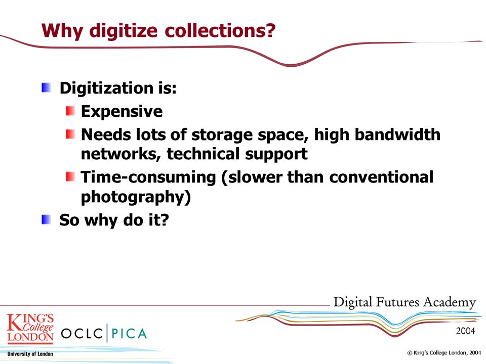 Why digitize collections.