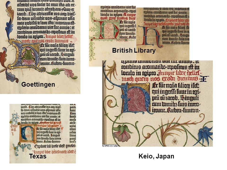 Goettingen British Library TexasKeio, Japan