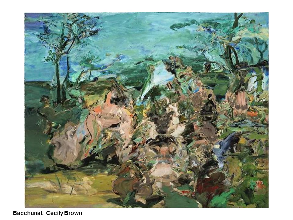 Bacchanal, Cecily Brown