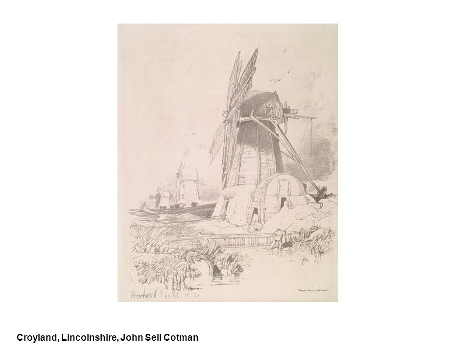 Croyland, Lincolnshire, John Sell Cotman