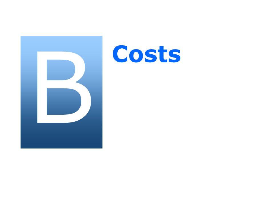 B Costs