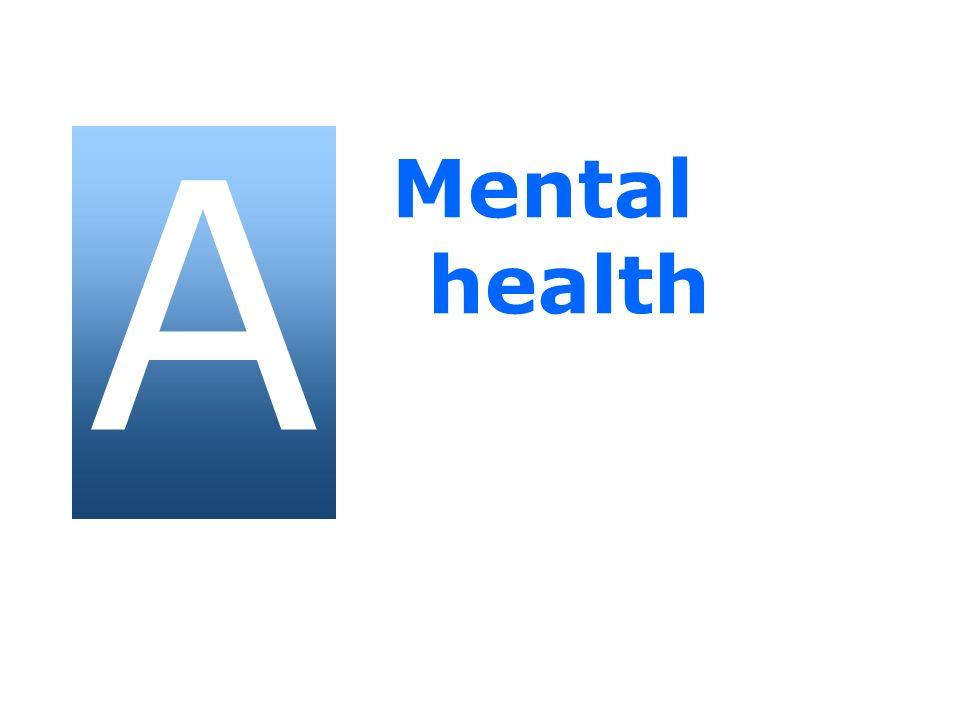 A Mental health