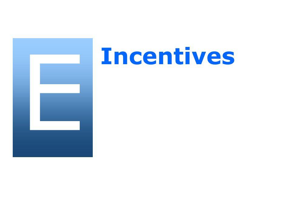E Incentives
