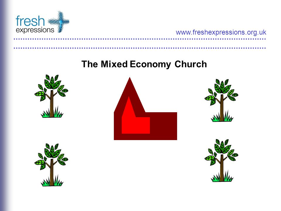 www.freshexpressions.org.uk The Mixed Economy Church