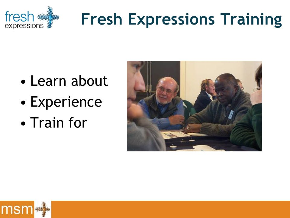 Learn about Experience Train for