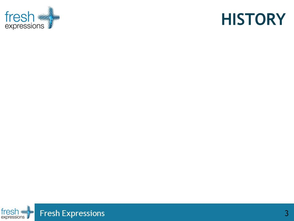HISTORY Fresh Expressions3