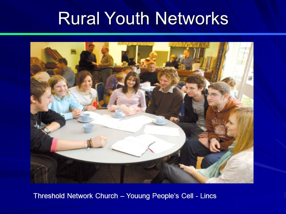 Rural Youth Networks Threshold Network Church – Youung Peoples Cell - Lincs