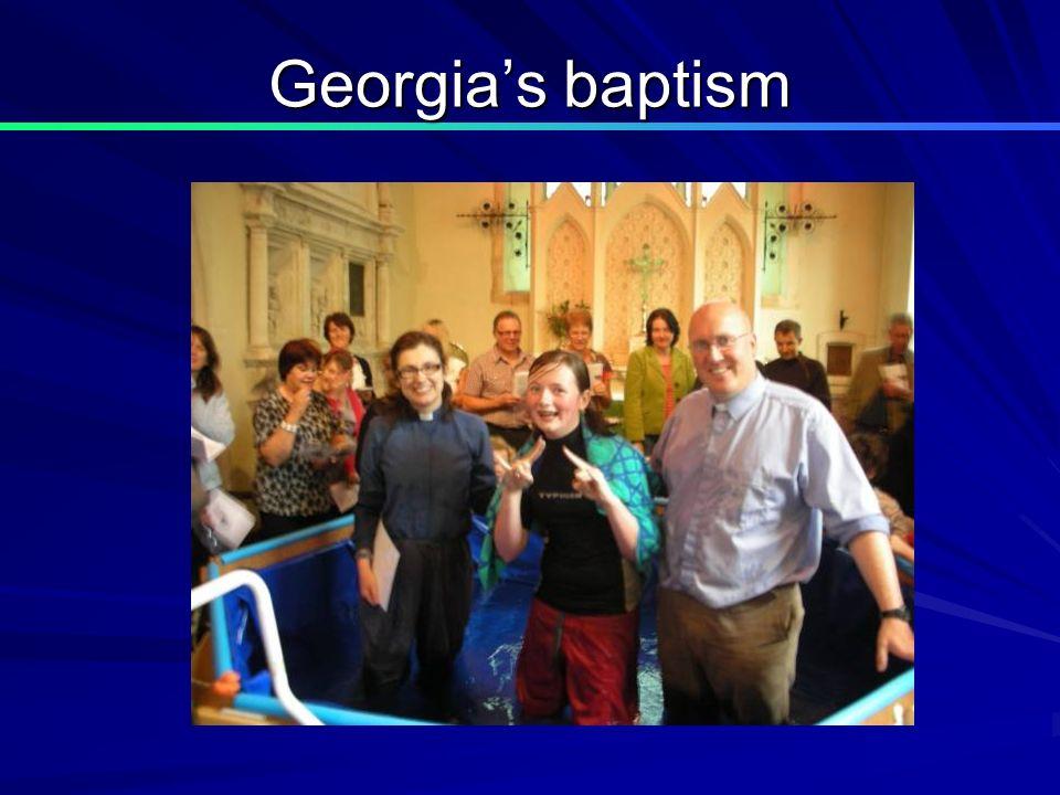 Georgias baptism