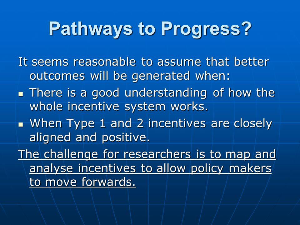Pathways to Progress.