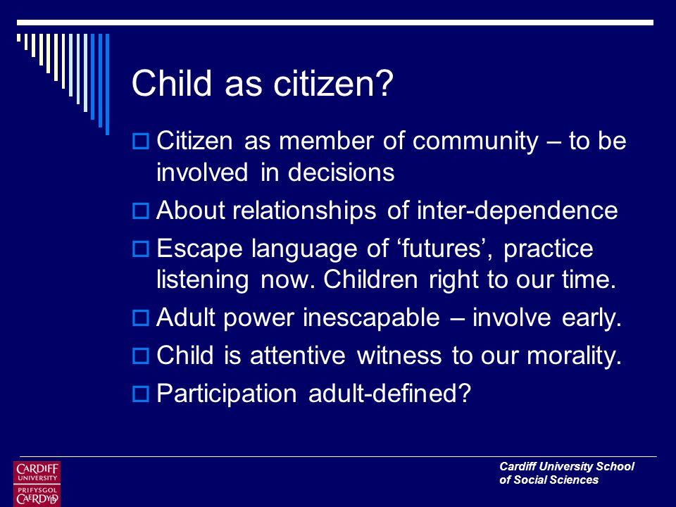 Child as citizen.