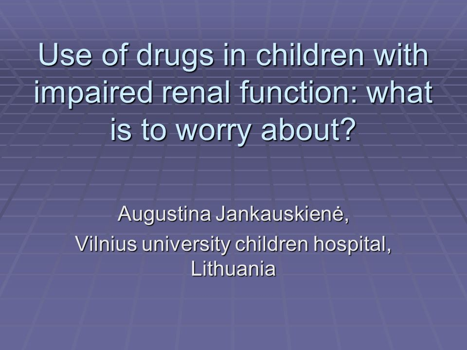 Dosing information for pediatric patients: are they really therapeutic orphans.
