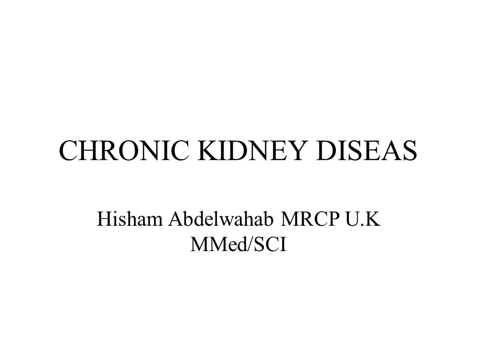 Targets for Screening Hypertensive patients Diabetic patients Cardiovascular disease Proteinuria Hematuria Those on regular NSAID/Herbs Renal calculi Anemia of unknown aetiology First and second degree relatives of ESRD Autoimmune disease (SLE/RA) Reduction of kidney mass(Nephrectomy