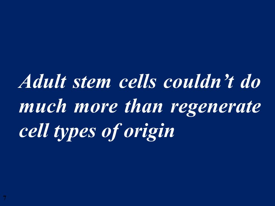 58 There is a need to increase public awareness and to manage the public expectations for human embryonic stem cell- based therapies