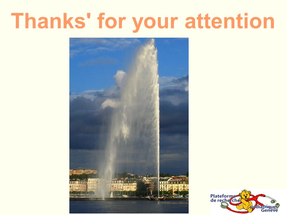 Thanks' for your attention
