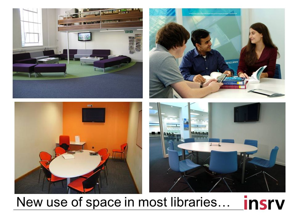New use of space in most libraries…