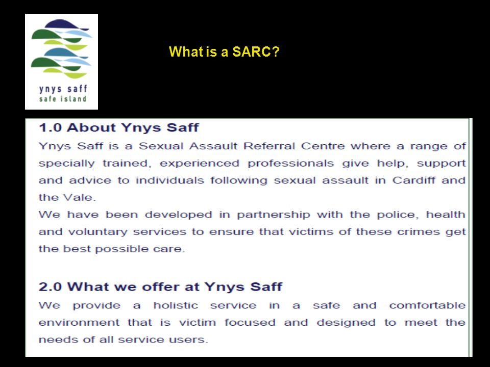 What is a SARC?