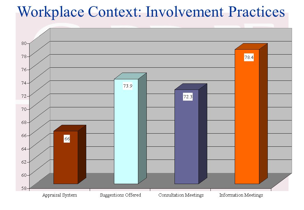 Workplace Context: Involvement Practices