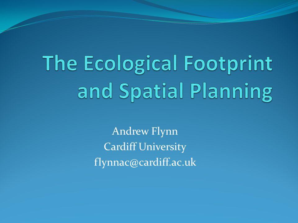 Andrew Flynn Cardiff University flynnac@cardiff.ac.uk