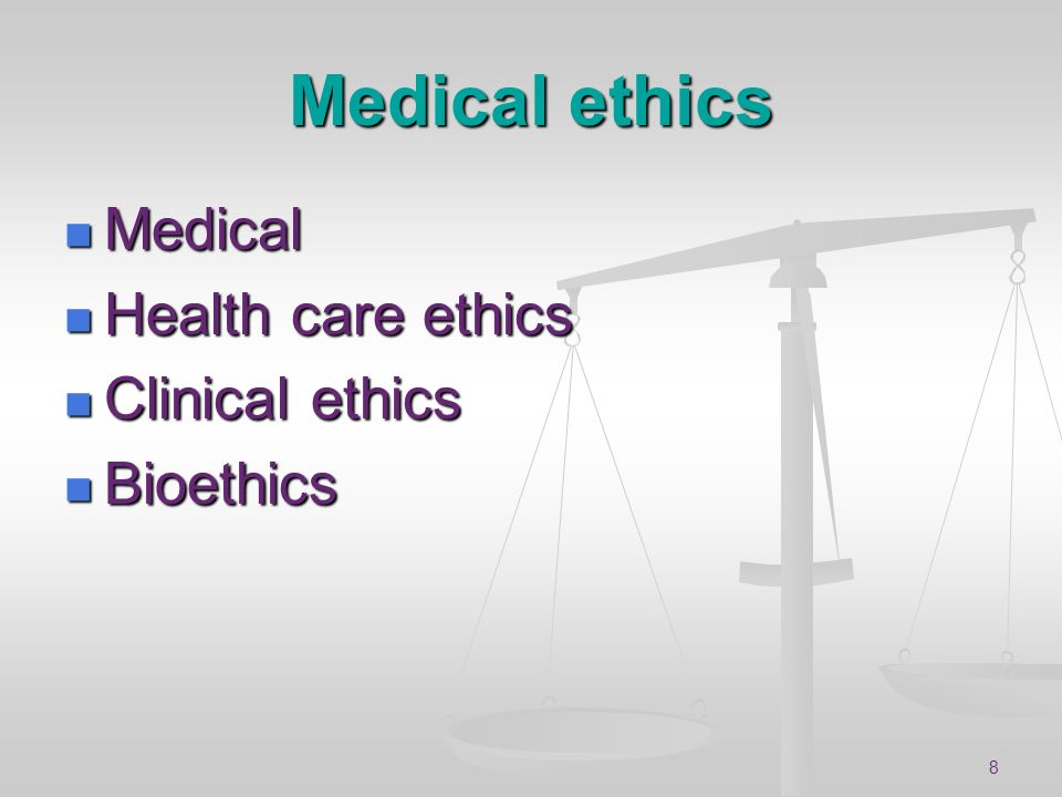 9 Ethical topics Patient confidentiality Patient confidentiality Doctor paternalism Doctor paternalism Rights of patient to refuse treatment Rights of patient to refuse treatment Rights of patients who lack capacity Rights of patients who lack capacity Organ removal Organ removal Involuntary detention Involuntary detention Foetal testing, selection and abortion Foetal testing, selection and abortion