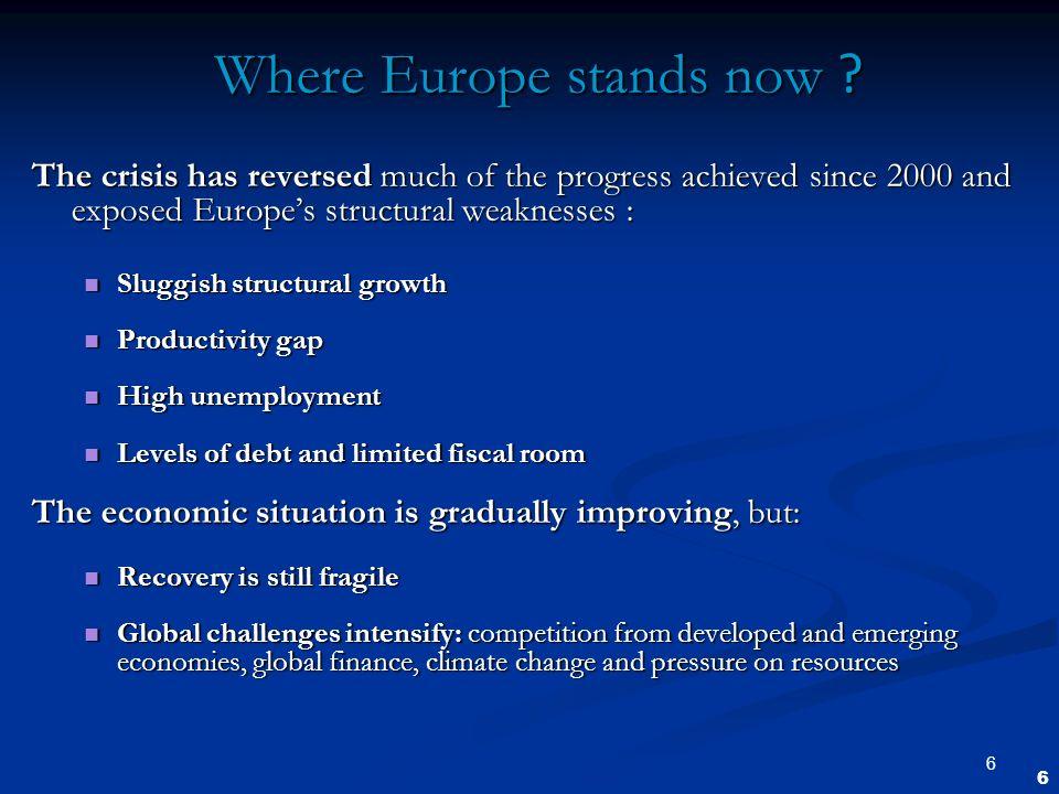 7 Why a European strategy.