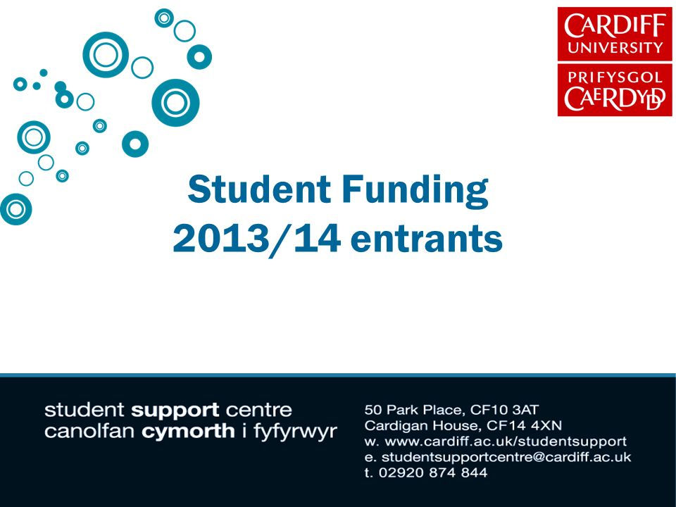 Student Funding 2013/14 entrants