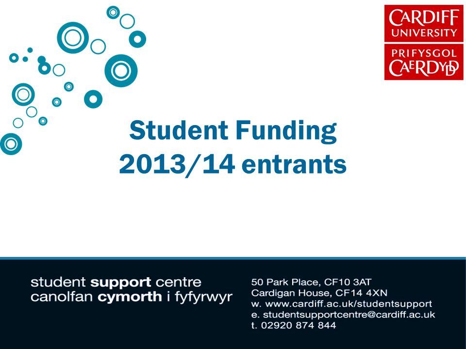 Student Funding 2013/14 entrants