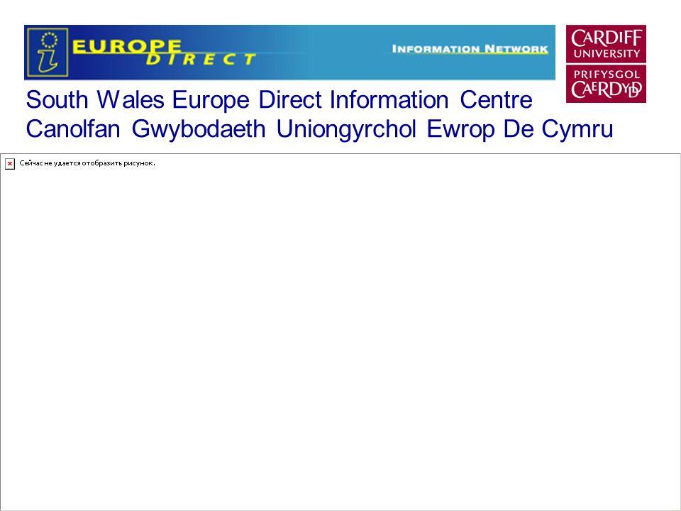 South Wales Europe Direct Information Centre Canolfan Gwybodaeth Uniongyrchol Ewrop De Cymru