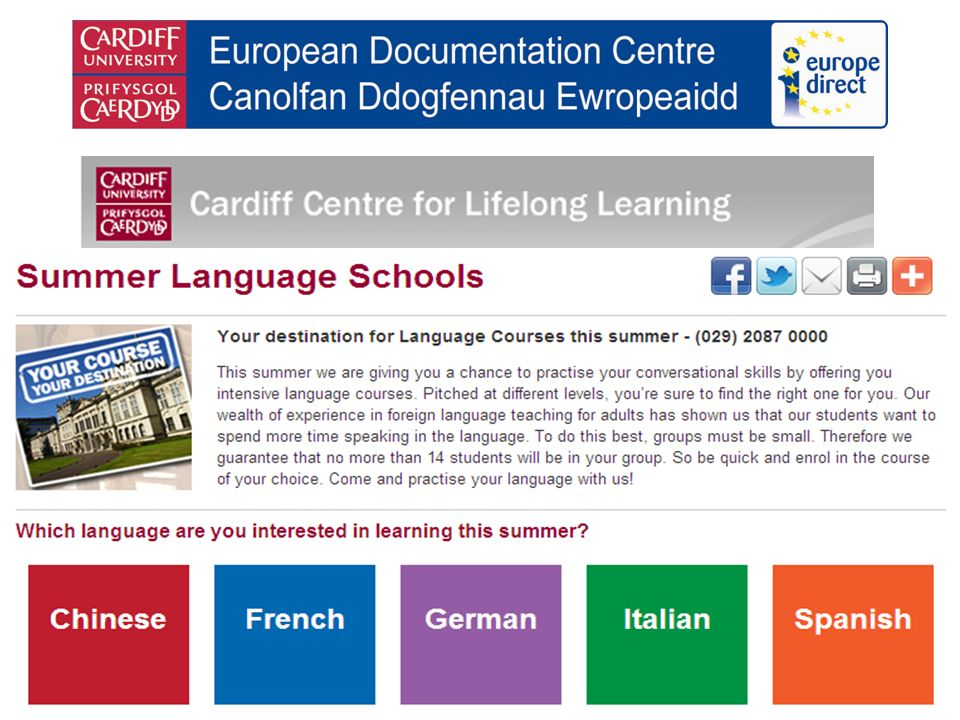 Details of 2010-11 language courses now available French, German, Italian, Portuguese and Spanish plus Croat, Greek, Polish, Russian and Turkish Jamie Pearce