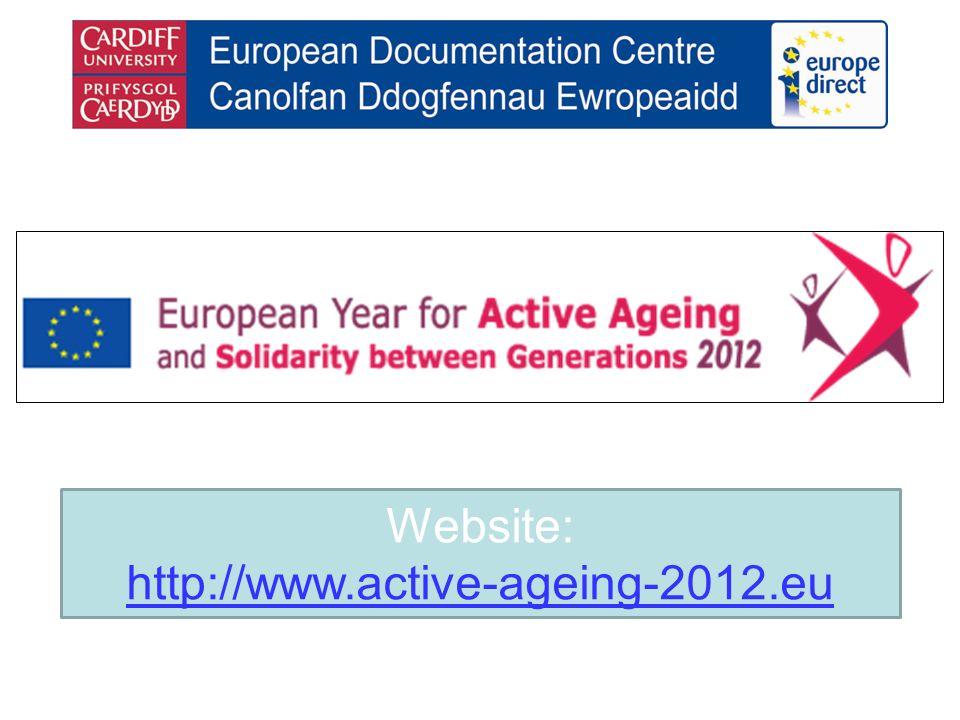 Website: http://www.active-ageing-2012.eu