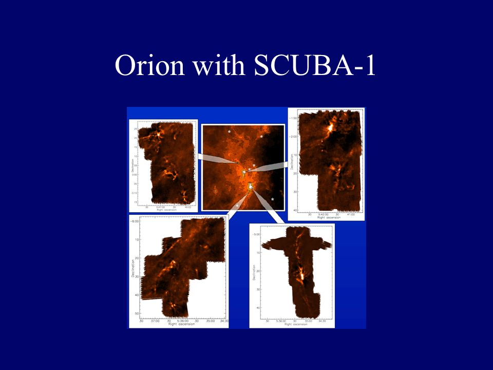 Orion core mass function Nutter & W-T 2006 MN submitted
