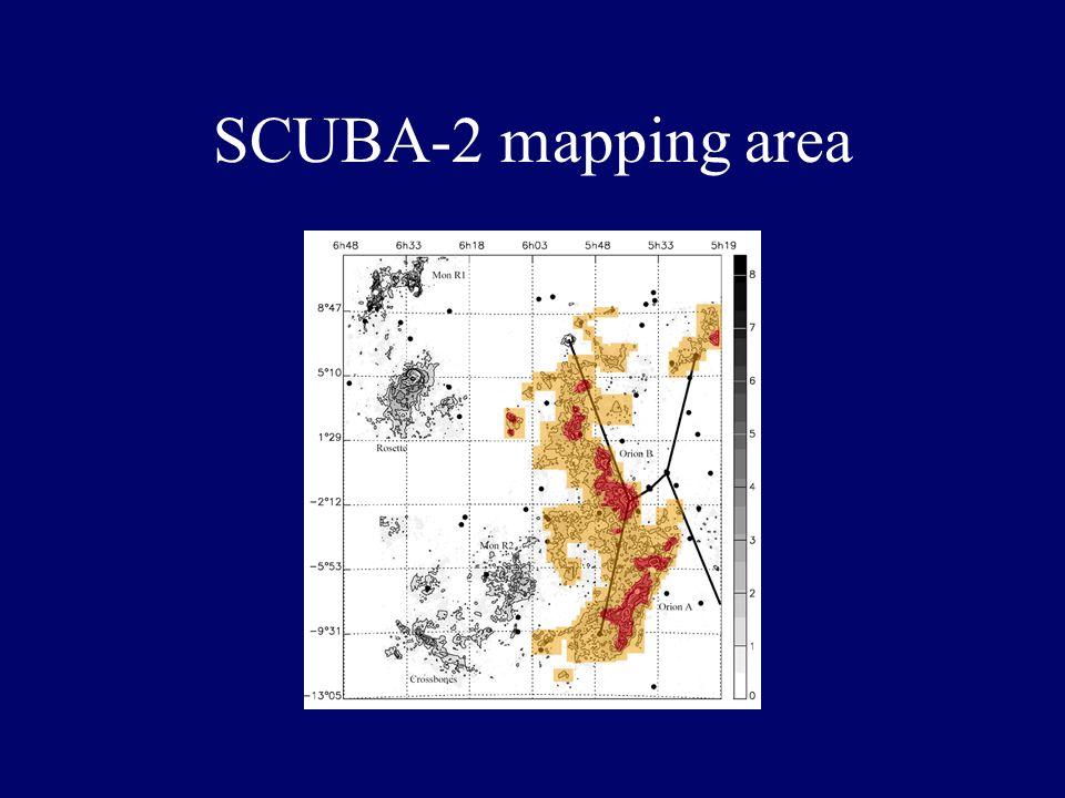 First Thumper data - map of Jupiter Ward-Thompson et al 2005 MNRAS 364, 843