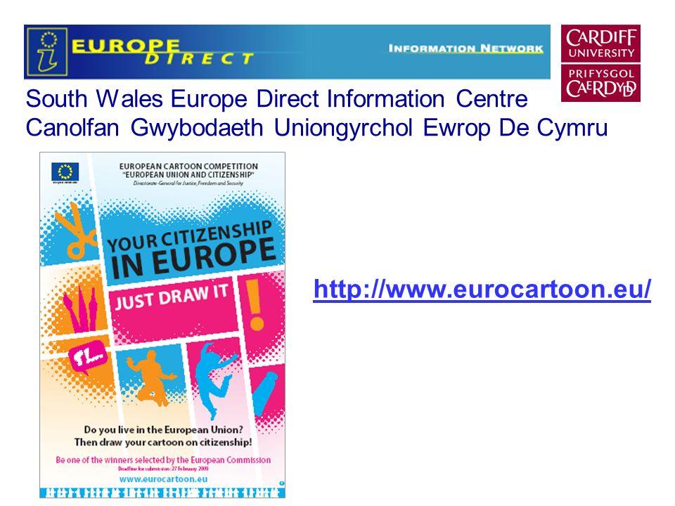 South Wales Europe Direct Information Centre Canolfan Gwybodaeth Uniongyrchol Ewrop De Cymru http://www.eurocartoon.eu/