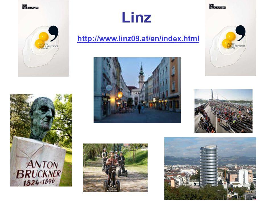 Linz http://www.linz09.at/en/index.html