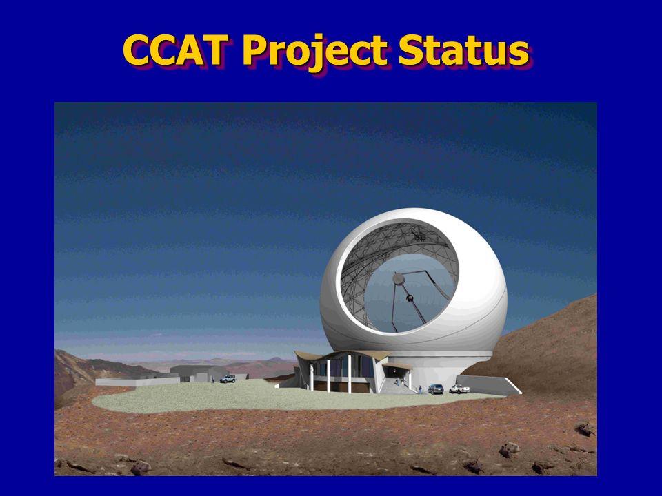 CCAT Project Status