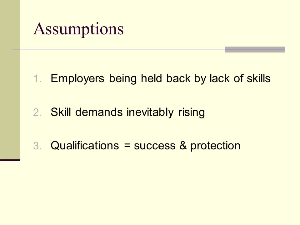 Skill shortages or poor quality jobs.