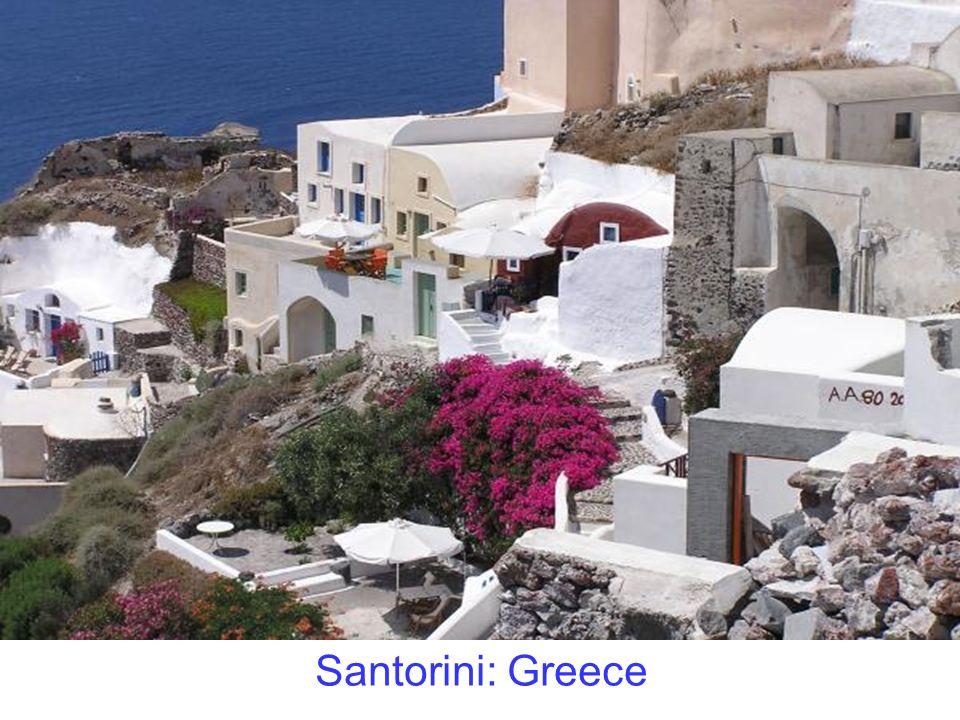 Santorini: Greece