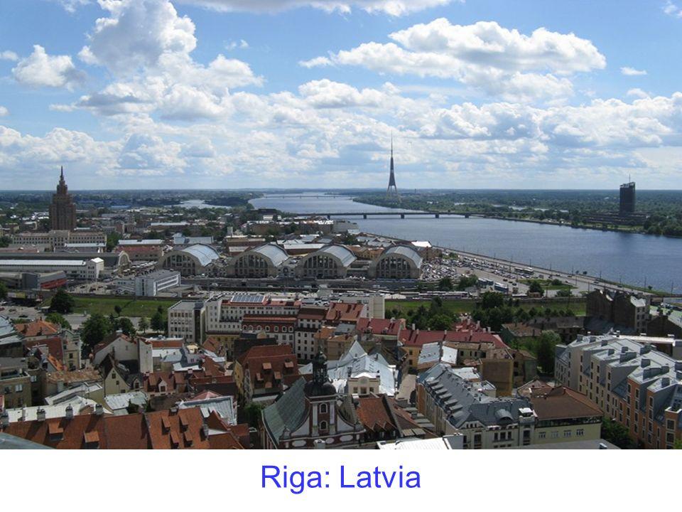 Riga: Latvia