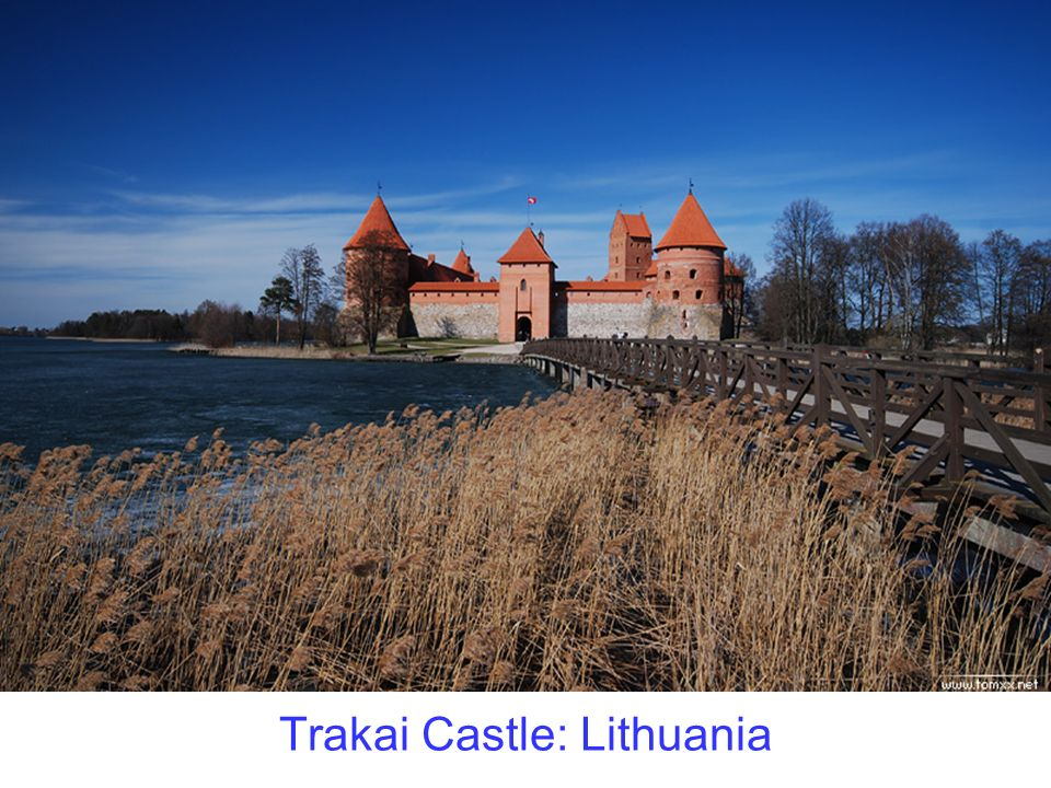 Trakai Castle: Lithuania