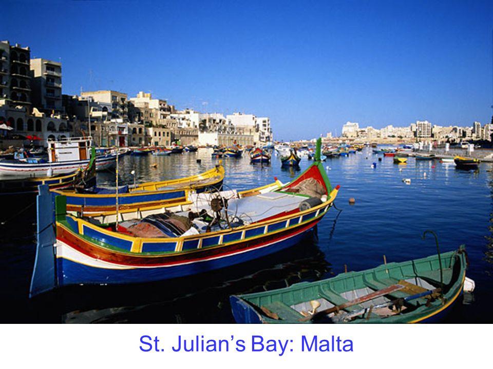 St. Julians Bay: Malta