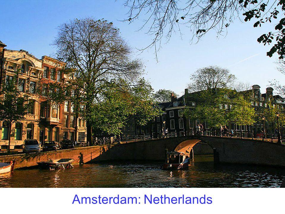 Amsterdam: Netherlands