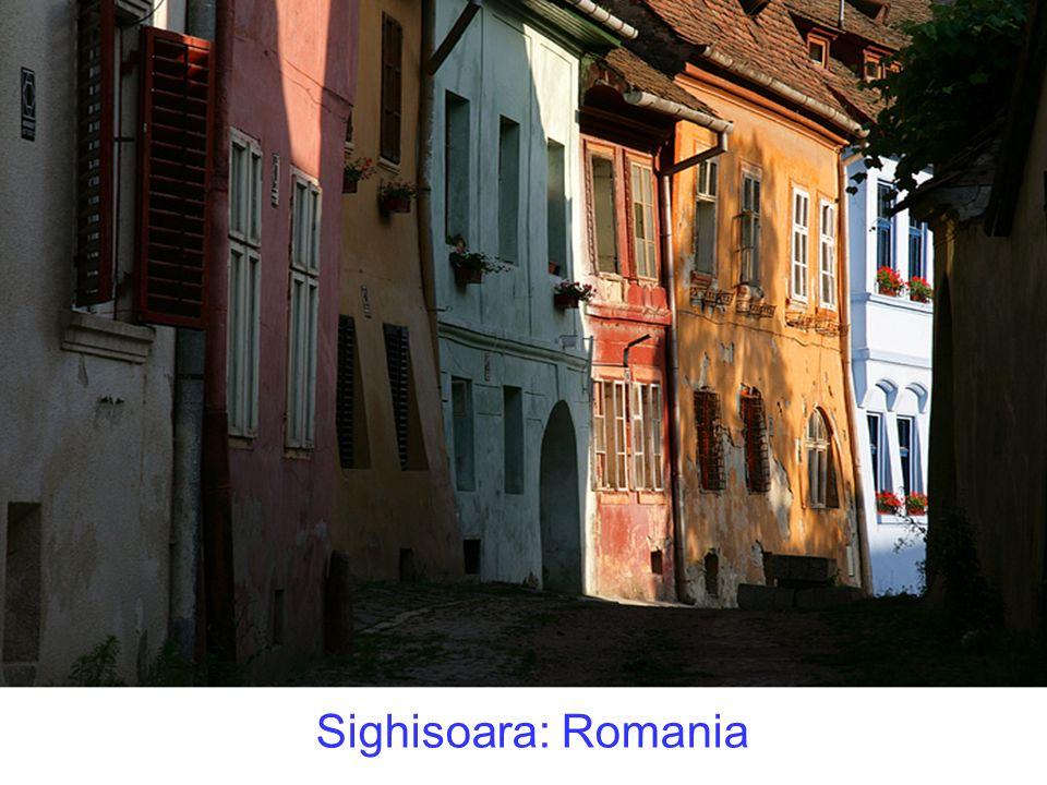 Sighisoara: Romania