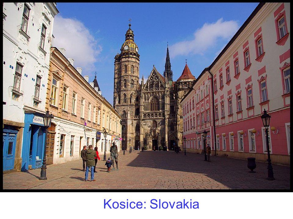 Kosice: Slovakia