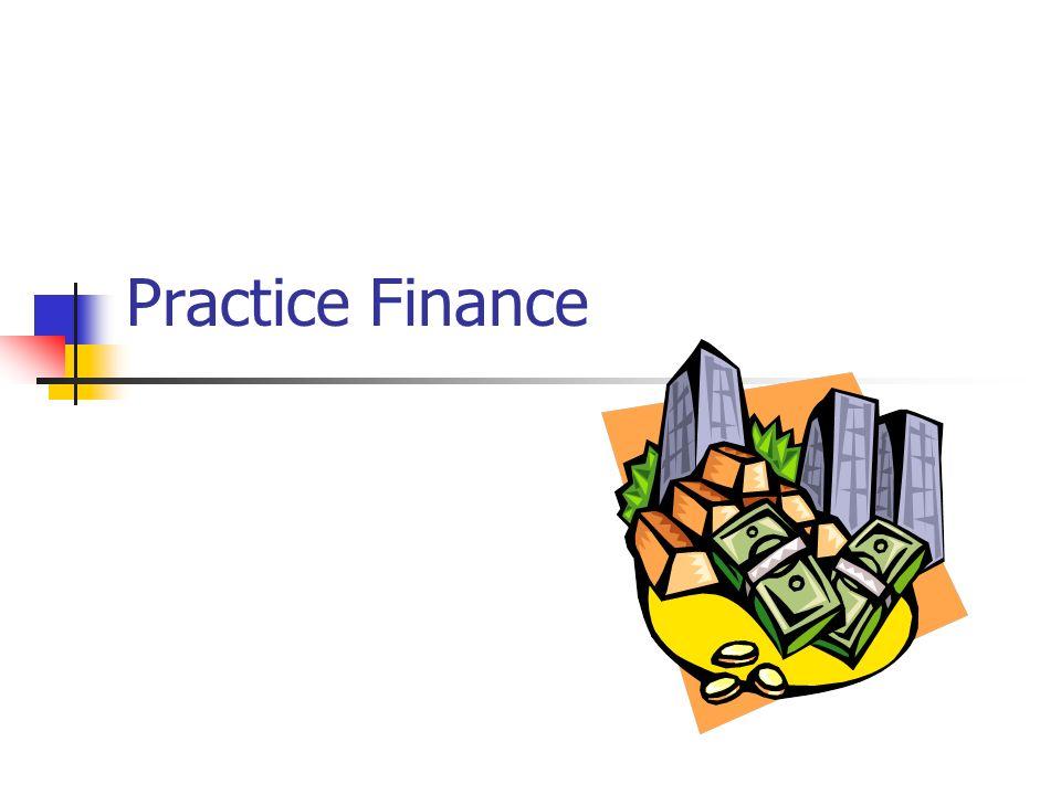 Practice Finance
