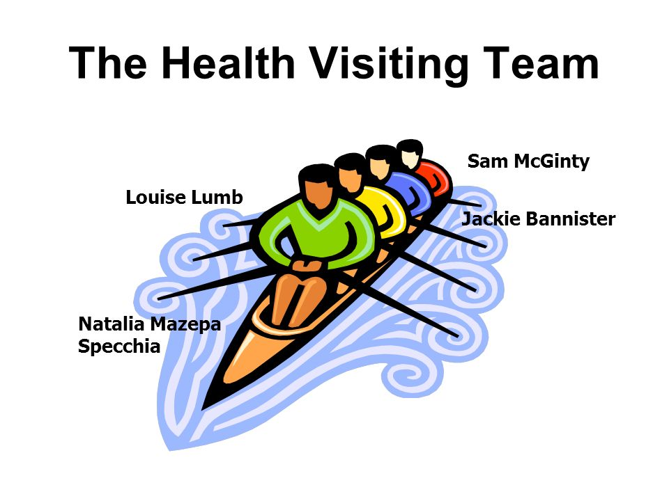 The Health Visiting Team Natalia Mazepa Specchia Sam McGinty Jackie Bannister Louise Lumb