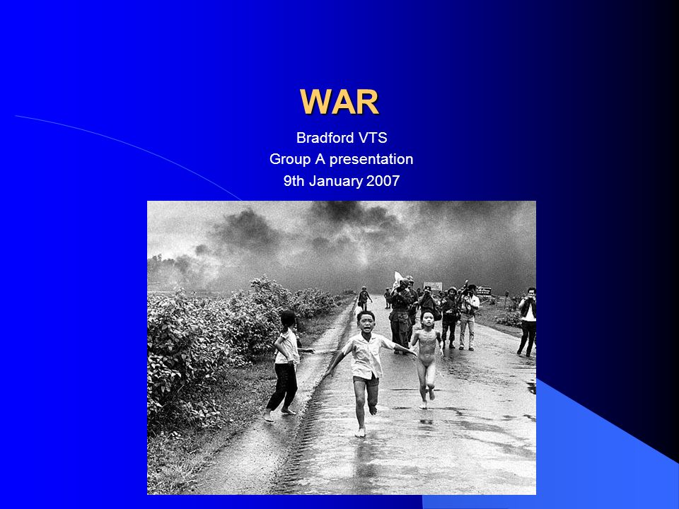 Program 2 pmIntroduction 2.15 pmWhat is War.