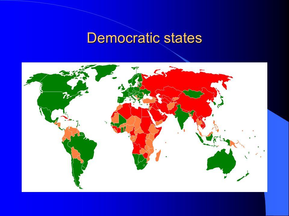 Democratic states