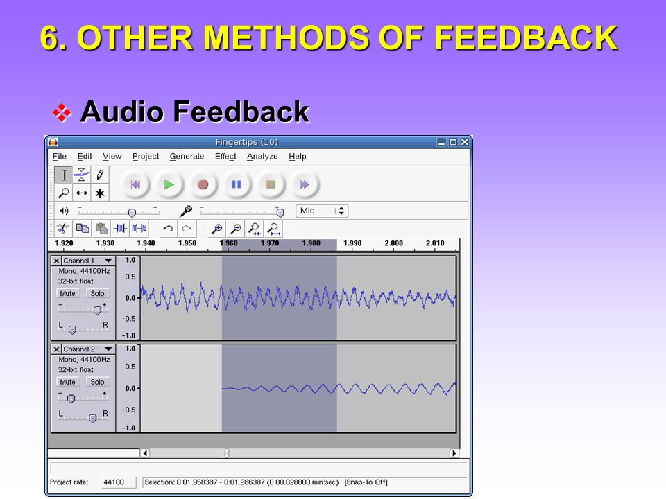 Audio Feedback Audio Feedback Use of Comment Sheets/Banks Use of Comment Sheets/Banks Grademark Grademark Podcasts/Screen captures Podcasts/Screen captures Presenting feedback in class Presenting feedback in class Feedback as Questions Feedback as Questions Computer-scanned feedback Computer-scanned feedback Voice-recognition software Voice-recognition software 6.