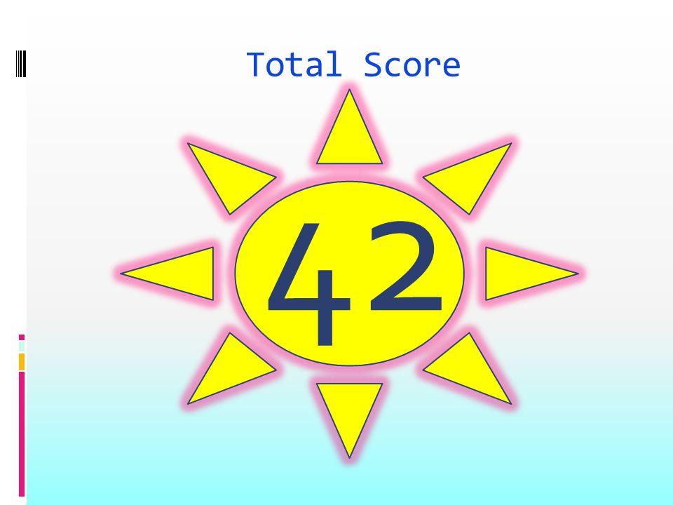 Total Score 42