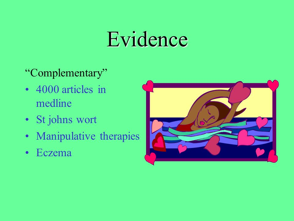 Evidence Conventional Counselling Ultrasound Bed rest Chiropody Many operations